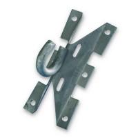 Крюк монтажный для крепления анкерного зажима
