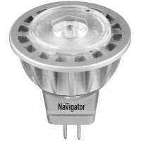 Лампа светодиодная 3 Вт 230В GU5.3 d=51mm, тёплый белый 94 255