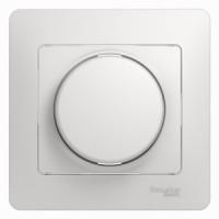 Светорегулятор универсальный 300 вт белый Glossa