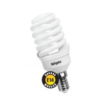 Лампа энергосберегающая 20 Вт Е14 4000К тонкая спираль холодный  94 298