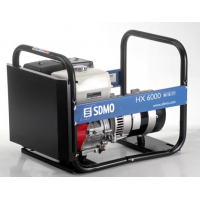 Генератор бензиновый однофазный 7.5 кВА HX6000-S