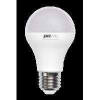 Лампа светодиодная 10 Вт 230В Е27 колба А60, пластик, белый