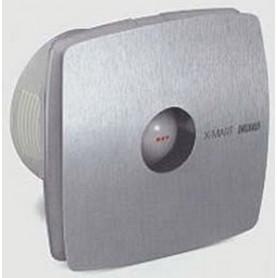 Вентилятор осевой 190 куб.м/час 25 Вт 230 В для настен.монтажа (диам.шахты 118мм) цвет нерж.сталь серия X-Mart