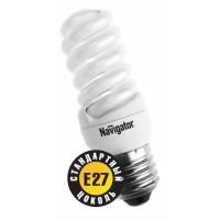 Лампа энергосберегающая 11 Вт Е27 2700К тонкая спираль тёплый 94 090