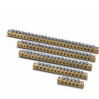 Шина N+PE 15х4,5мм.+6х5,6мм для Estetica-Unibox-Europa-Fly