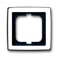 Рамка 1 пост глянцевый хром solo (замена 1754-0-4538)