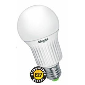 Лампа светодиодная 8 Вт 230В Е27 колба А55, металл, белый 94 133