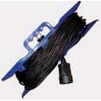 Удлинитель 1 розетка, 50 м, шнур на рамке, УШ-10 ПВС 2x1