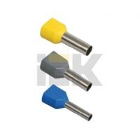 Наконечник-гильза изолир.2,5-12 мм (упак.100 шт)