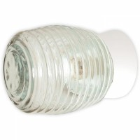 Светильник настенный 60Вт Е27  IP20 прозрачный осн. прямое
