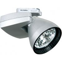 Прожектор для МГЛ 35Вт 230В с лампой Mini Priority CDM-Tm 35W FL GA69 серебро