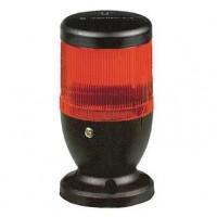 Световая колонна c лампой- вспышкой 1Дж красная 70мм 230В AC