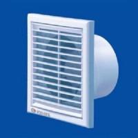 Вентилятор осевой 185 куб.м/час 16 Вт 220 В для настен. и потолоч.монтажа (диам.шахты 125 мм) сетка от насекомых серия K1