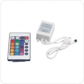 Контроллер LED для RGB DC/12В 72 Вт, с пультом 3-х канальный инфракрасный