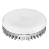 Лампа светодиодная 12 Вт GX53 5000К таблетка, холодный белый