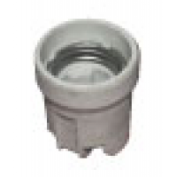 Патрон E27 подвесной керамический (контакты медь)
