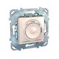 Термостат электронный 8А от+5 до +30 С бежевый Unica