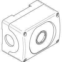 Корпус кнопочного поста MEP1-0 на 1 элемент пластиковый