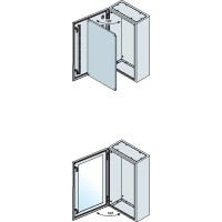 Корпус шкафа SR дверь со стеклом 500x400x200мм, IP65