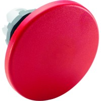Кнопка красная грибок  без фиксации 60мм ( только корпус ) тип MPM2-10R