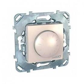 Диммер поворотный для ламп накаливания и галогенных ламп 230В, 40-1000Вт бежевый Unica
