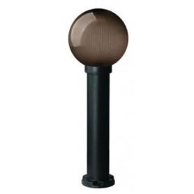 Светильник  уличный  60Вт Е27 h=20 см, шар янтарный IP43