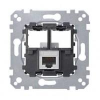 Механизм компьютерной розетки RJ45 кат5 UTP