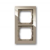 Рамка 2 поста цвет maison-beige Axcent