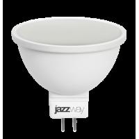Лампа светодиодная 5,5 Вт 230В GU5.3 d=51mm, теплопластик, тёплый белый