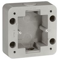 Коробка наружного монтажа 1 пост  IP55 алюминий Soliroc
