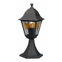 Светильник-столбик 60Вт E27, бронза  KOBLENZ  IP44