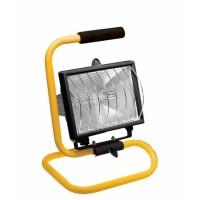Прожектор 150Вт R7s 78мм IP54 черный/желтый