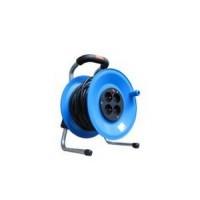 Удлинитель на катушке 4 розетки, 50м, термозащита, IP20 HO3VV-F (ПВС) 3х1,5