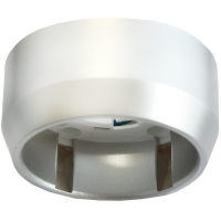 Светильник накладной для КЛЛ 7-11Вт GX40F серебро ,30*65 Ecola