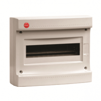Щит настенный DKC RAM без дверцы 12 мод.,IP40, серый 83612