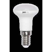 Лампа светодиодная 5 Вт 230В Е14 мини-рефлектор, пластик, тёплый белый