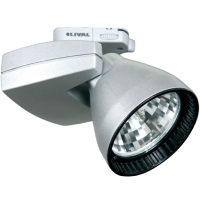 Прожектор для МГЛ 20Вт 230В с лампой CDM серебро Mini Priority CDM-Tm 20W FL GA69
