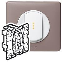Механизм выключателя кнопочного НО+НЗ 10 А Celiane