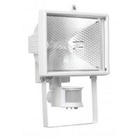 Прожектор 150Вт R7s 78мм IP54 белый с датчиком движения