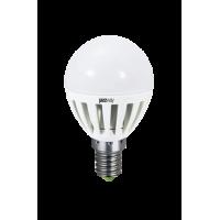 Лампа светодиодная 3,5 Вт 230В Е14 шарик, термопластик, холодный белый