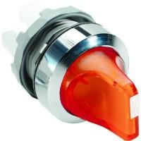 Переключатель M2SS1-21R (короткая ручка) красный 2-х позиционный с подсветкой (только корпус) 45# с фиксацией