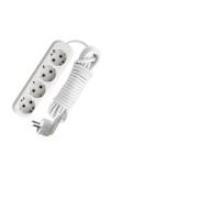 Удлинитель 4 розетки с з/к, 3 м, Е-304 ПВС 3x1, 16 А, 3500 Вт