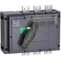 Выключатель-разъединитель 3-пол. 1600А с черной ручкой INTERPACT INV1600