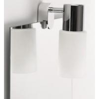 Светильник настенный на зеркало КЛЛ 12Вт Е14, хром WADE IP21 (в комплекте лампа Philips)