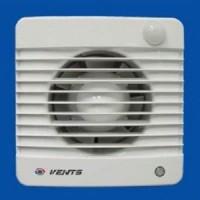 Вентилятор осевой   98 куб.м/час 14 Вт 220 В для настен. и потолоч.монтажа (диам.шахты 100мм) таймер датчик движ. серия  M