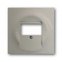 Накладка розетки для аккустических систем (0247,0248) шампань-металлик Impuls