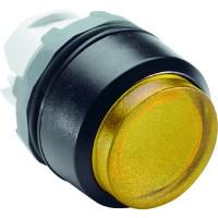 Кнопка желтая выступающая (только корпус) с подсветкой без фиксации тип MP3-11Y