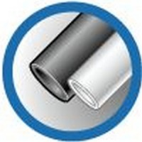 ТУТ 40/20 черная, трубка термоусаживаемая тонкостенная 40/20 мм до 1кВ (-55С+105С) черная