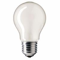 Лампа накаливания 60 Вт, 220В, E27, матовая