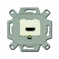 Механизм HDMI-розетки/разъёма слоновая кость